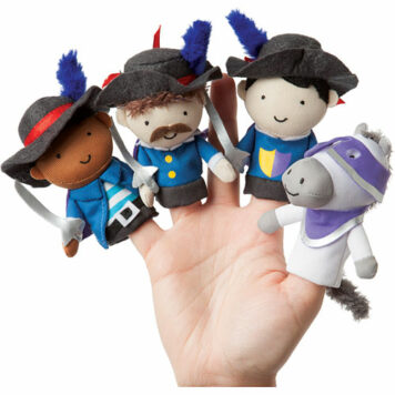 Storytime Musketeer Mates - Finger Puppet Assortment