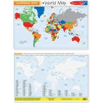 World Map (Bundle of 6)
