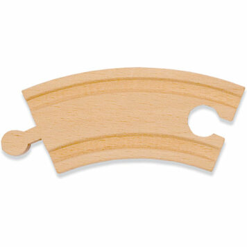 """3.25"""" Curved Track (6 pack)"""