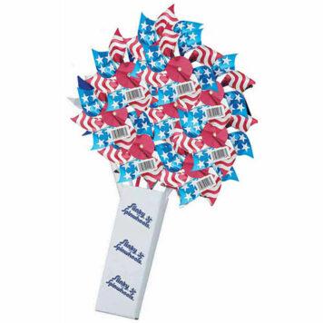 "7-1/ 2"" Stars Stripes Spinwheel Checkout Display"