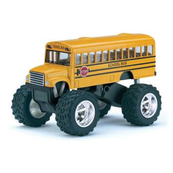 Diecast Big Wheel School Bus