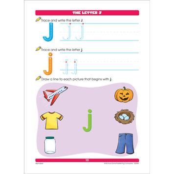 Alphabet K-1 Workbook
