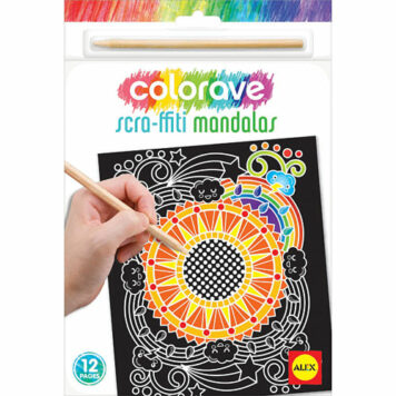 ALEX Art Colorave Scraffiti Mandala