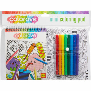 ALEX Art Colorave Mini Coloring Pad
