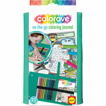 ALEX Art Colorave On-The-Go Coloring Journal