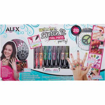 ALEX Spa Ultimate Sketch It Nail Pens Party