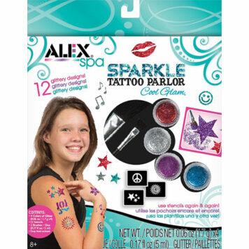 ALEX Toys Spa Sparkle Tattoo Parlor Cool Glam