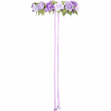 Garland Rose HALO (lilac, Adjustable)