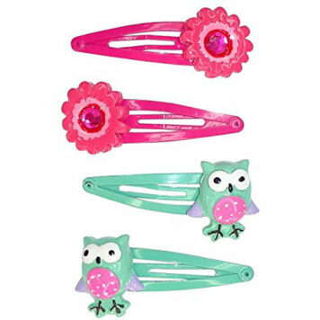 Creative Education Fl-Owl Power Hairclips (4 Piece)