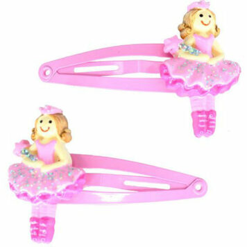 Fairy Princess Hair Clips 2Pc Set