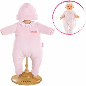 "Corolle Mon Classique Pink Pajamas (14"")"