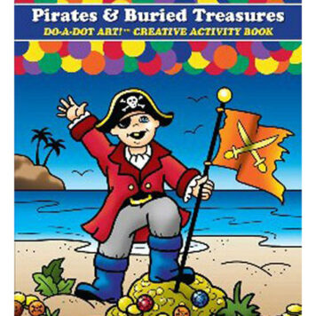 13 Pack DO-A-DOT ART PIRATES & BURIED TREASURES DO-A-DOT