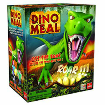 Dino Meal-The Steal the Eggs Before the Dinosaur Lunges Game