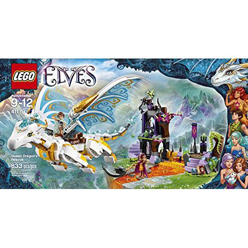 LEGO Elves 41179 Queen Dragon's Rescue Building Kit (833 Piece ...