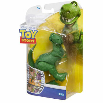 "Disney/Pixar Toy Story Rex Figure, 4"""