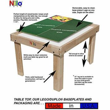 Nilo N34 lego/duploTM compatible table