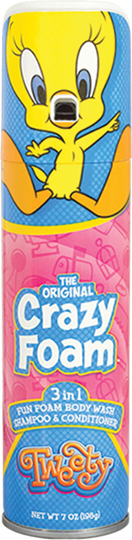 Tweety Crazy Foam
