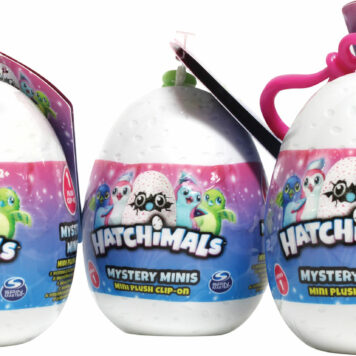 "3.5"" Hatchimal Plush W/ Sound"