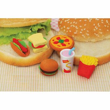 Erasers - Fast Food