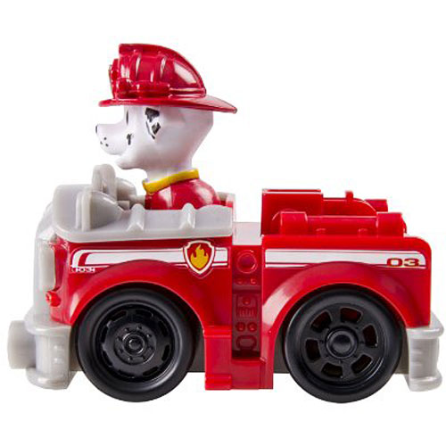 nickelodeon paw patrol racers marshall s fire truck vehicle