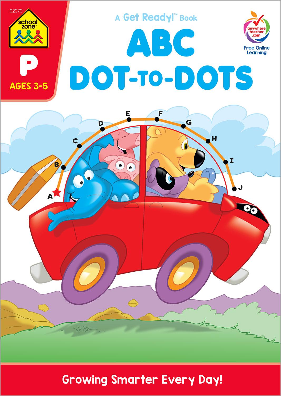 ABC Dot To Dots Workbook