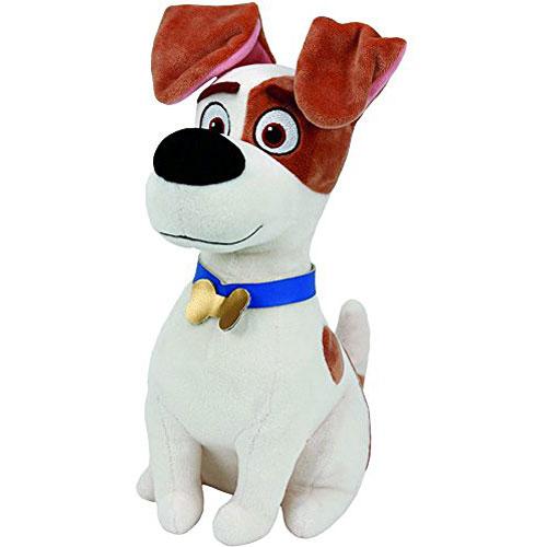 Ty Beanie Babies Secret Life Of Pets Max The Dog Medium Plush