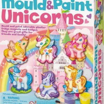 Unicorns Mould & Paint