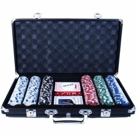 300 Chip Poker Game Set
