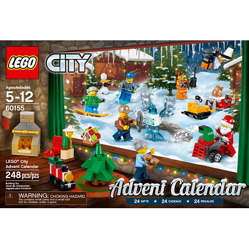 Lego City Advent Calendar Awesome Toys Gifts