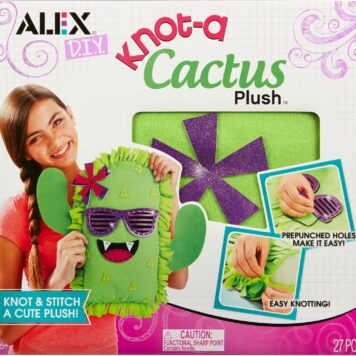 ALEX DIY Knot-A Cactus Plush