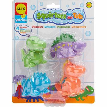 ALEX Toys Rub a Dub Squirters for the Tub-Dinos