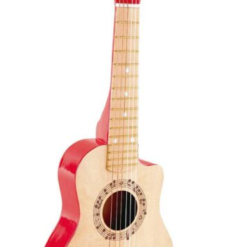 Red Flame Guitar