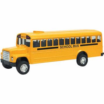 Diecast Bus, Pull-Back
