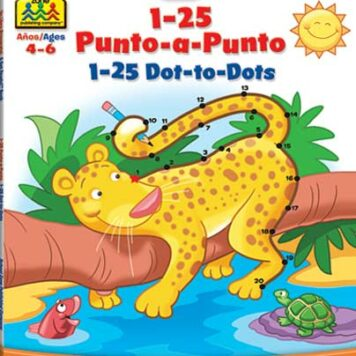 Bilingual 1-25 Dot-to-Dots Deluxe Edition Workbook