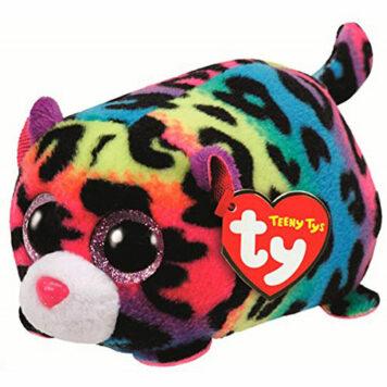 Jelly Multi Leopard Teeny Ty - Stuffed Animal by Ty (42163)