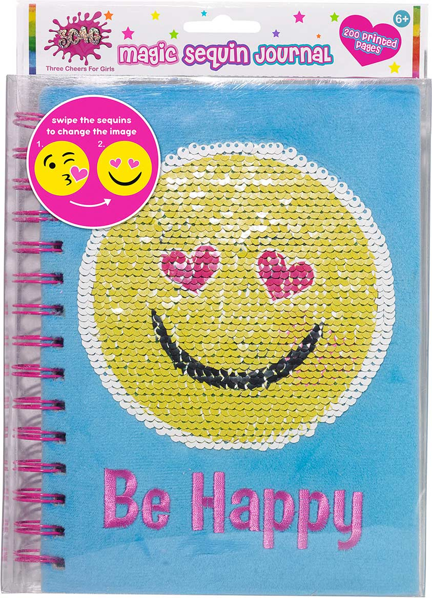 Emoji Magic Sequin Journal