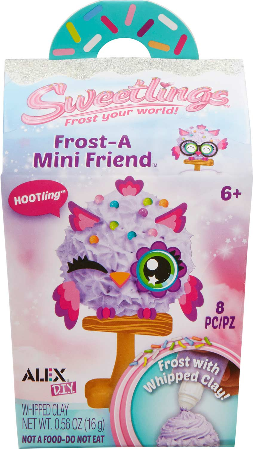 ALEX DIY Sweetlings Frost-A Mini Friend Series 2 PDQ