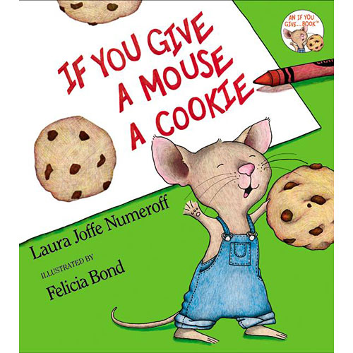 Book Hardcover Mouse a Cookie