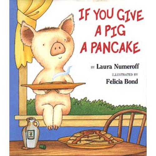 Book Hardcover Pig a Pancake
