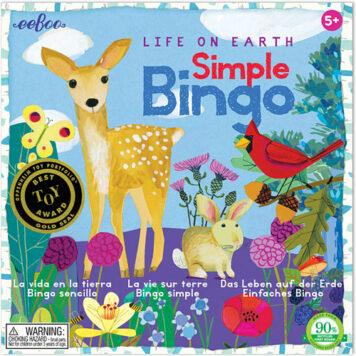 Life On Earth Simple Bingo (2ED)