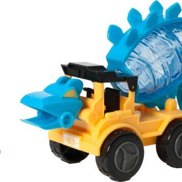 Dino Construction Company - Helix the Stegosaurus Cement Mixer Set