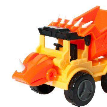 Dino Construction Company - Rocko the Styracosaurus Dump Truck Set