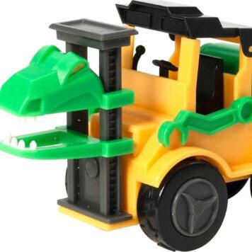 Dino Construction Company - Snap the Velociraptor Forklift Set