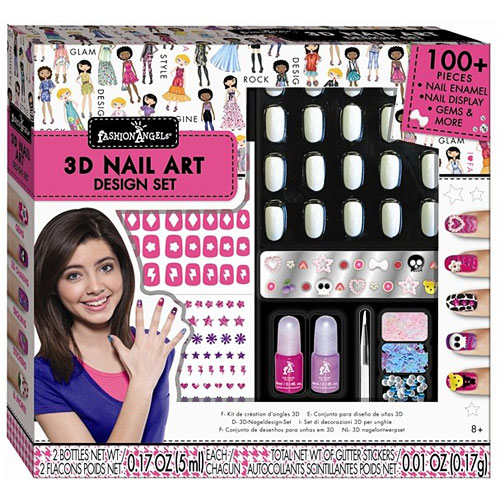 Fashion Angels 3d Nail Design Set