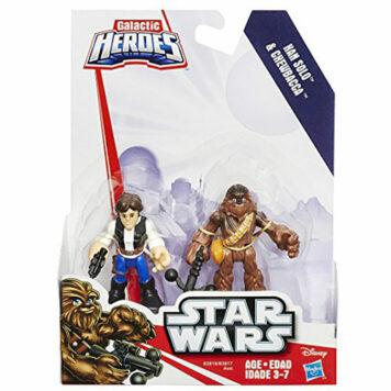 Playskool Heroes Star Wars Galactic Heroes Han Solo and Chewbacca