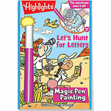 Magic Pen Painting - Highlights 'Let's Hunt for Letters'